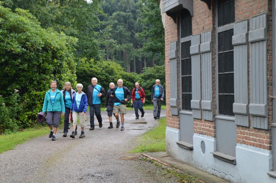Wandelaars uit Poederlee.