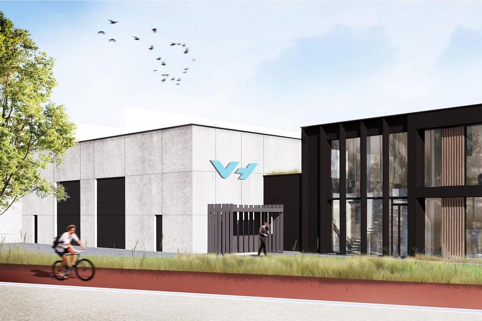Zo gaat het gebouw van Van Heurck eruitzien.