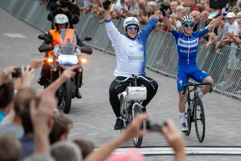 In 2019 kwam Remco Evenepoel als winnaar over de eindmeet van het Puts na-Tourcriterium.