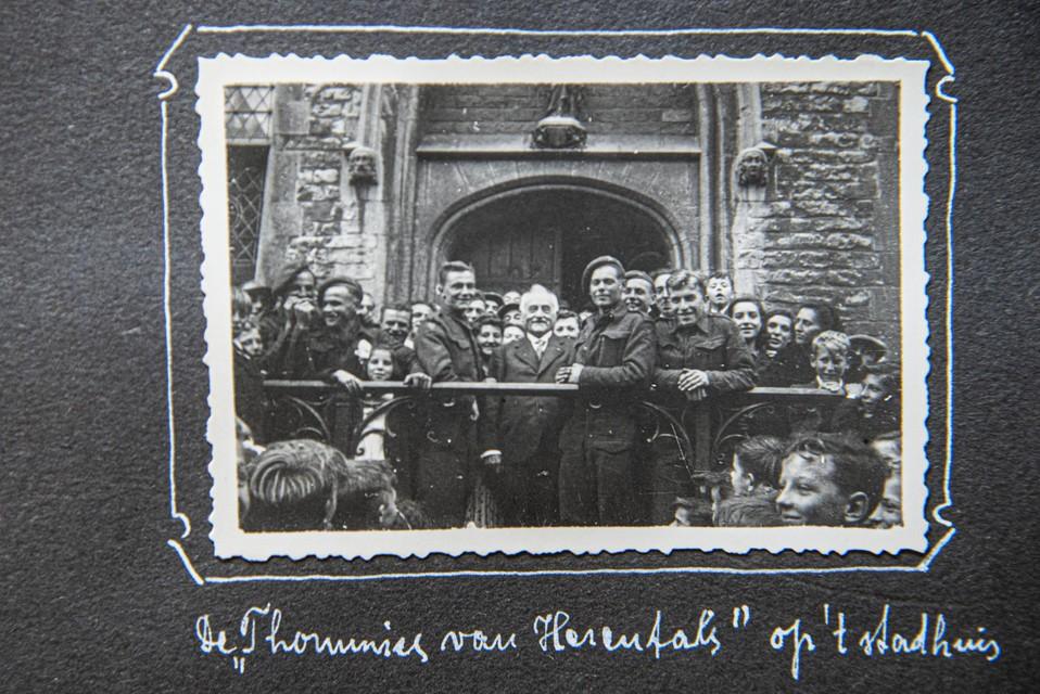 Britten op het Stadhuis van Herentals.