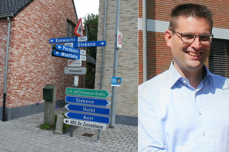 Een straat heeft in Koewacht, op het grondgebied van Stekene én Moerbeke tot drie verschillende straatnamen. De burgemeester van Moerbeke bekijkt nu of daar iets aan gedaan kan worden.