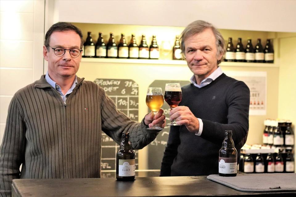 Geert en Frank Cloet, twee neven met dezelfde passie.