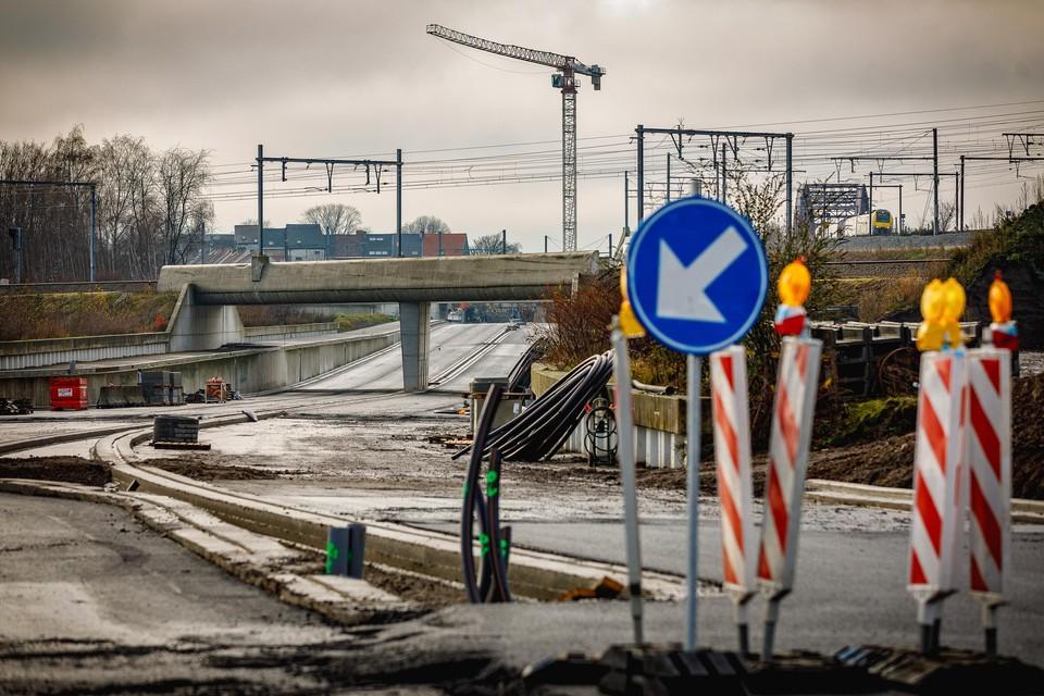 De werkzaamheden aan de tangent in Mechelen zijn het grootste project dat dit jaar in onze regio zijn beslag krijgt.