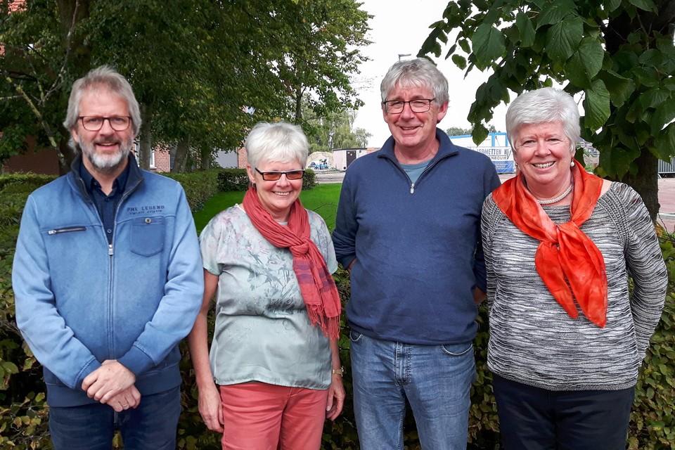 Peter, Leen, Jan en Julia Van Gils stellen tentoon in het Rivierenhof
