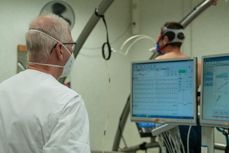 De spelers van Waasland-Beveren waren in het UZA voor een cardiale screening.