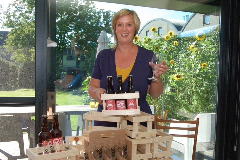 """""""Wij drukken de pauzeknop in, we brouwen voorlopig geen bier meer"""", zegt Liesbeth De Keersmaecker van De Meester-Brouwer."""