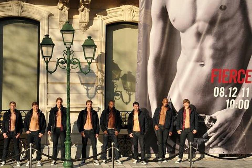 In 2011 werd de winkel nog met veel tromgeroffel en heel wat mannelijke modellen geopend.