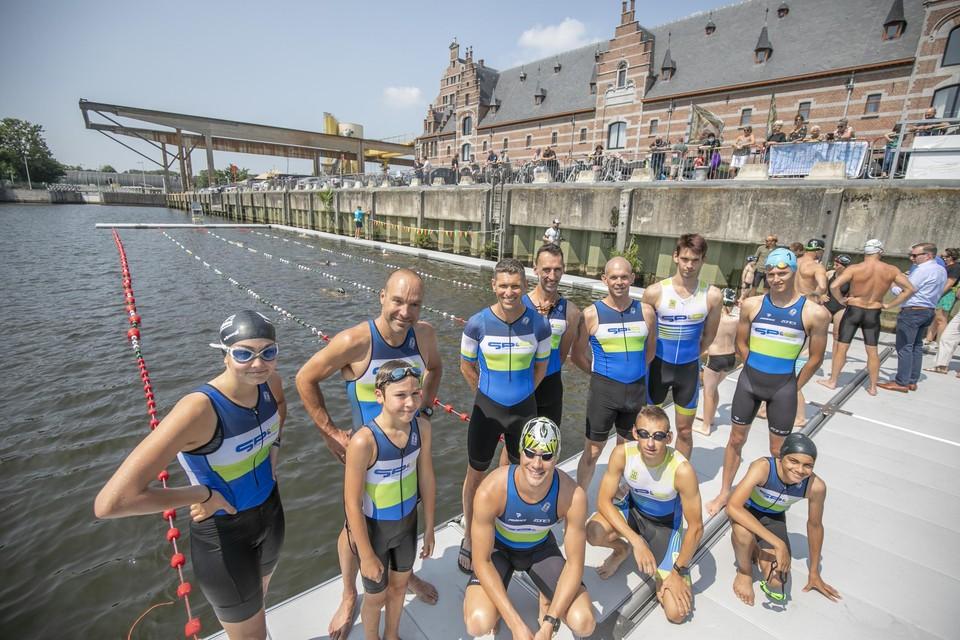 Leden van Triatlon Mechelen zijn in hun nopjes met het Mechels initiatief.