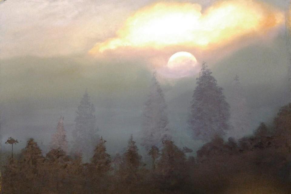 Maurits Lenaerts laat zich inspireren door landschappen.