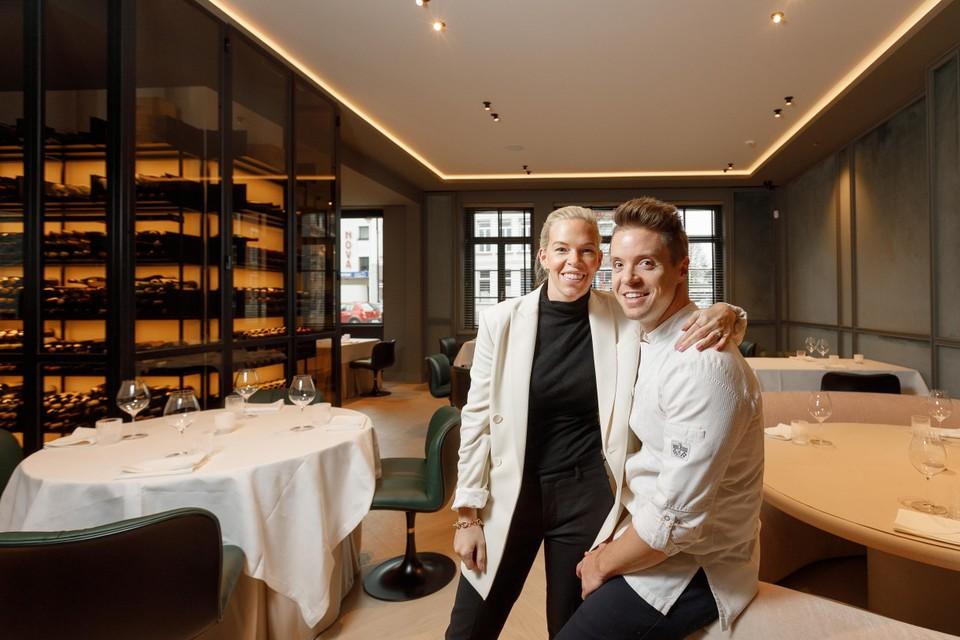 Sofie Willemarck en haar man Thierry Theys.