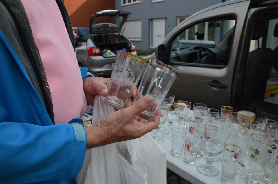 Nog glazen die Frans Verstricht wel mooi vindt.