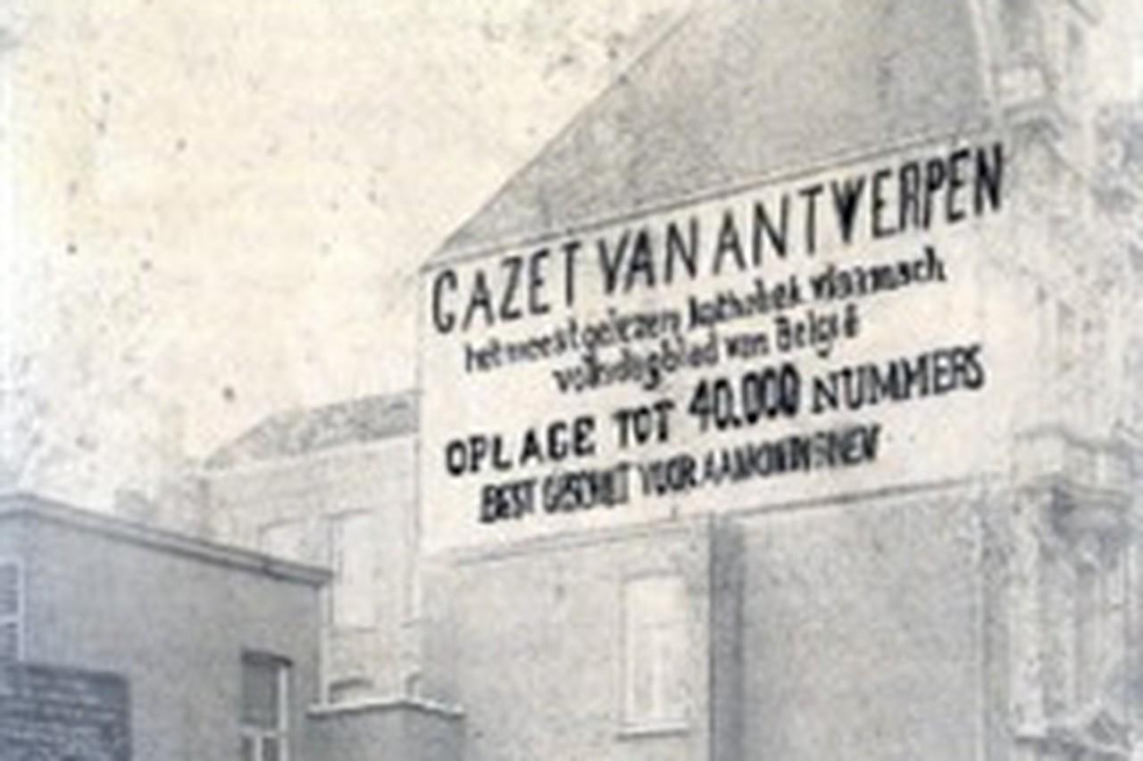 Eerste GvA: 'Centenblad' voor Jan met de pet - Gazet van Antwerpen