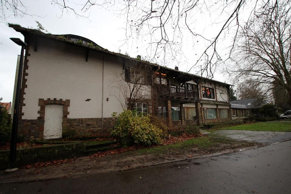 Het Tirolerhof achteraan de site is bijna omgevormd tot een Borsbeekse ontmoetingsplek.