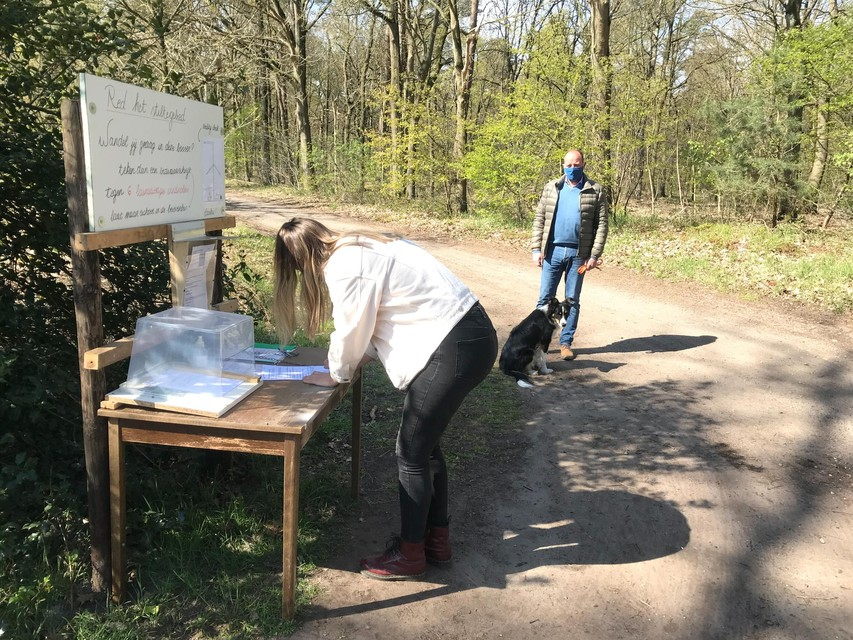 Tijdens het openbaar onderzoek was er al een petitie voor het behoud van het bos.