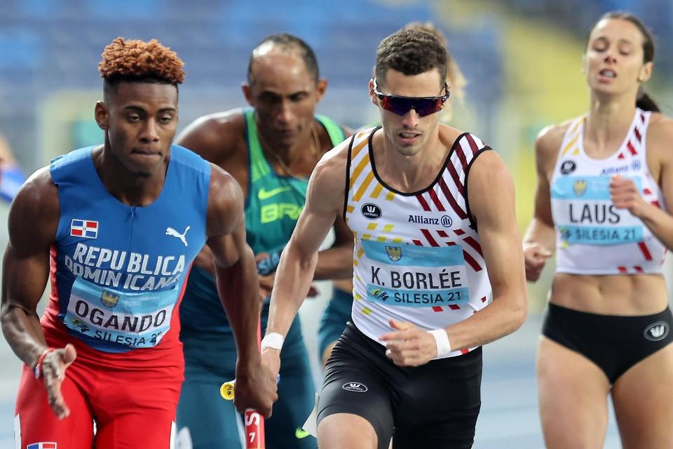 Kevin Borlée en Camille Laus liepen beiden vier wedstrijden in twee dagen. Het gevolg van een kern die op dit WK niet breed genoeg was.
