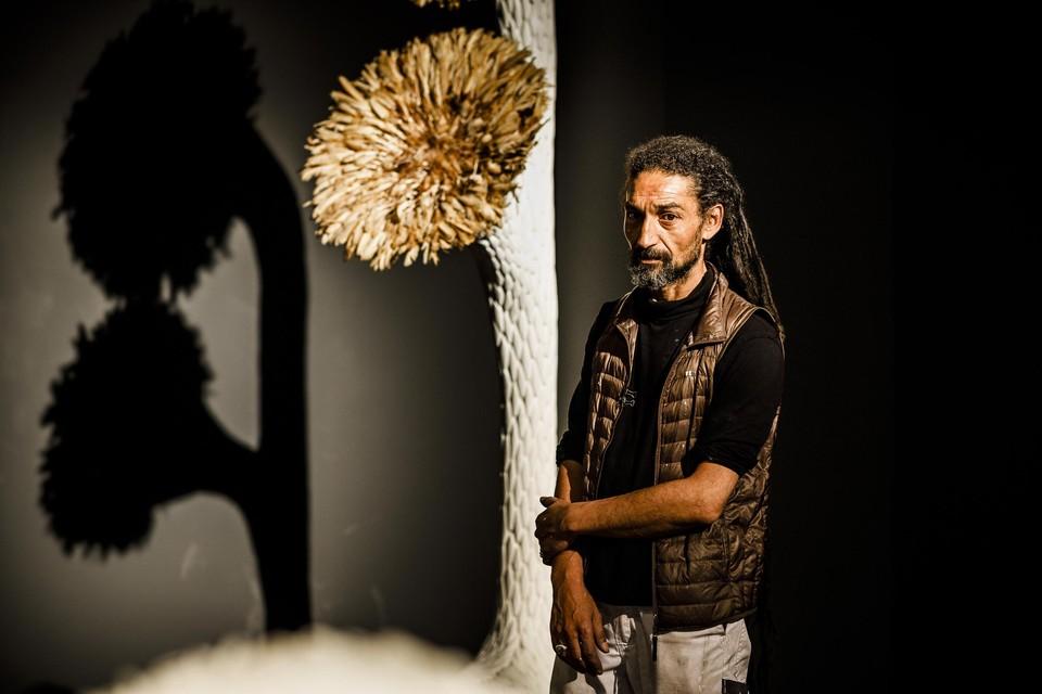 Karim Osmani zat zeven maanden in creatieve quarantaine in Marokko.
