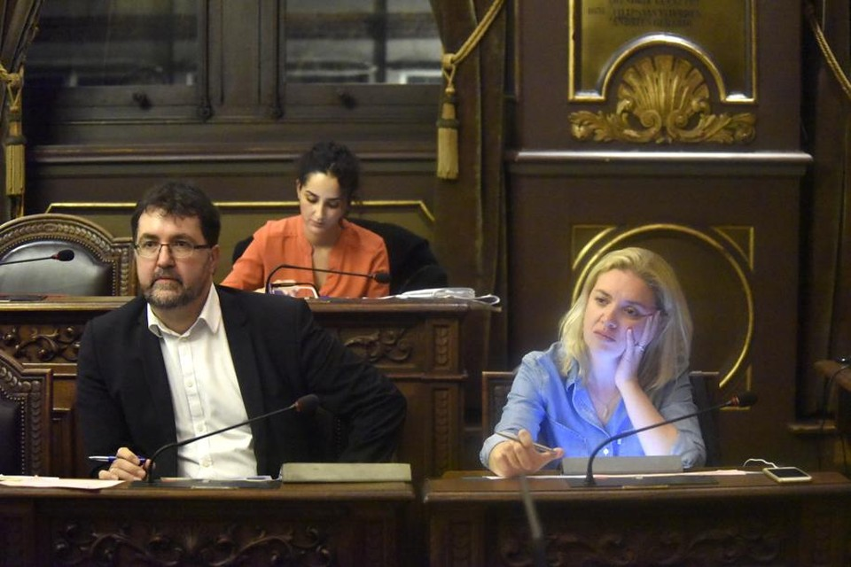 Wouter Van Besien en Freya Piryns
