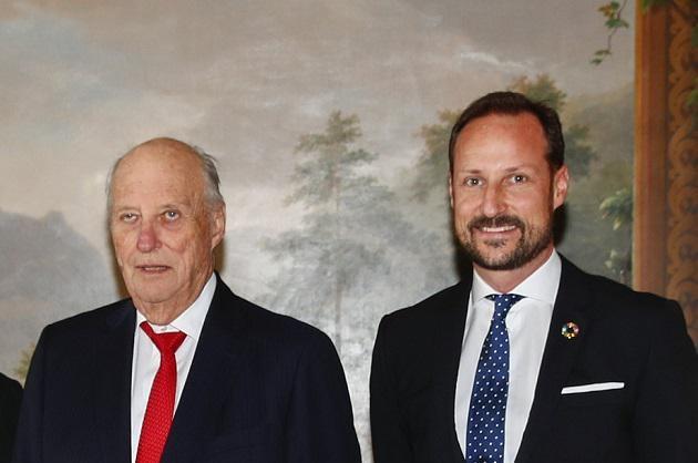 Harald en Haakon.