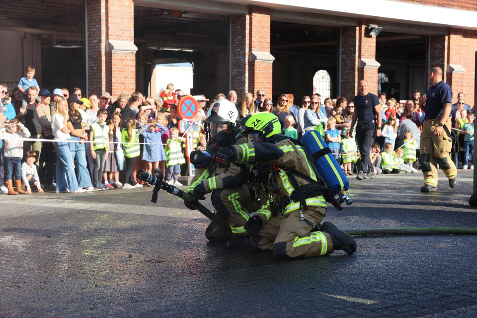 Brandweerwerk is teamwerk.