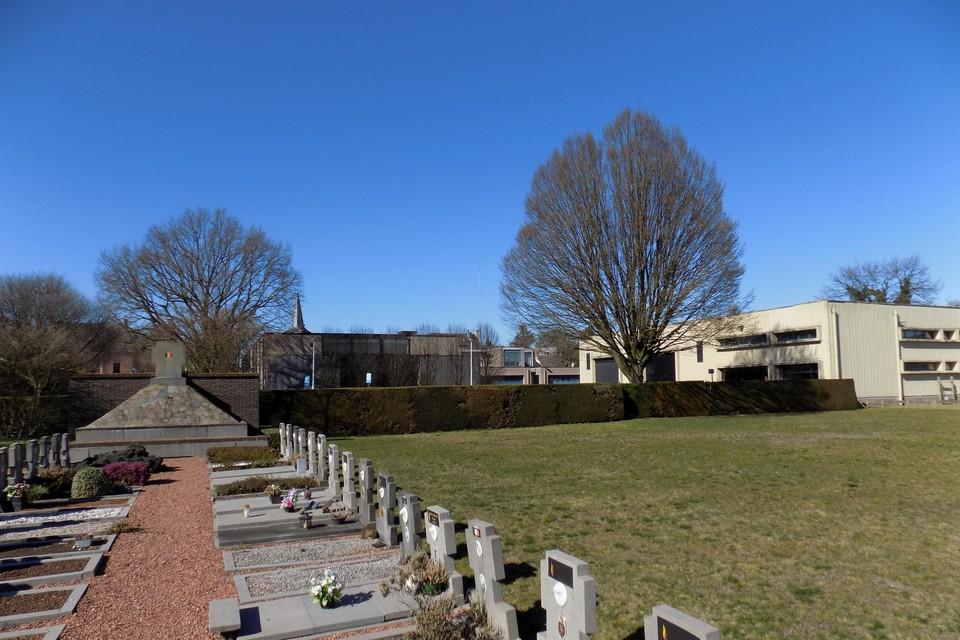 Op de oude begraafplaats in Vosselaar wil de gemeente een stilte- en troostplek maken.