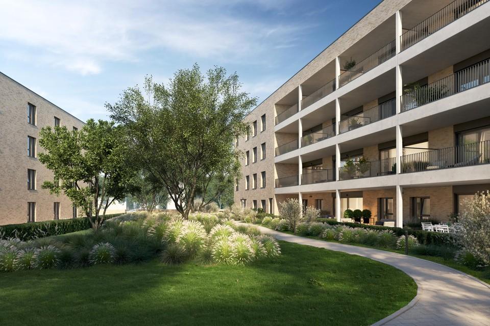 Een impressie van Residentie Philyra in de vernieuwde Borgerwijk.
