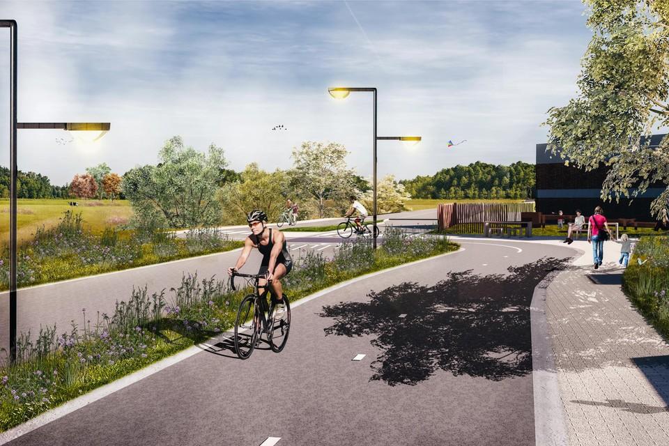 De heraanleg van het jaagpad moet voor de fietser een tot 4 meter breed fietspad over een afstand van 11 kilometer opleveren.