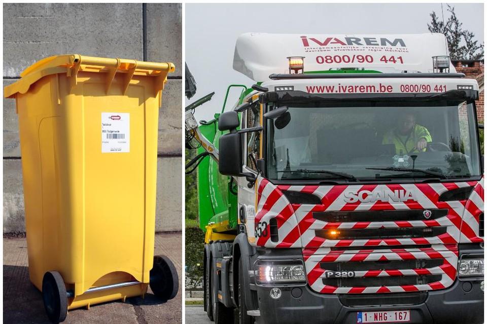 In IOK-buurgemeenten Heist en Nijlen heeft de gele container al lang geleden zijn intrede gemaakt.