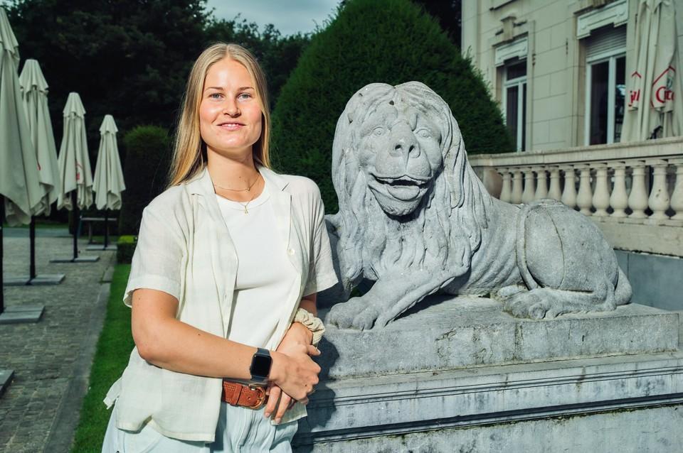 Johanne Denayer, vriendin van Loïck Luypaert.