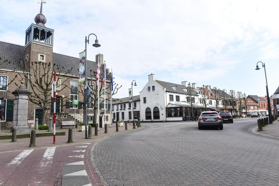 Het centrum van Baarle wordt een zone 30.