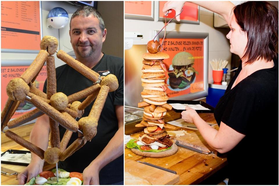 Na negen jaar stoppen uitbaters Annelies Sterckx en Marc Peeters met hun bekende hamburger- en broodjeszaak langs de Olmensebaan