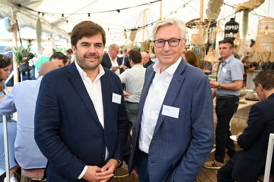 Yves en Greg Aertssen zijn al jarenlang overtuigde sponsors van de organisatie Mercy Ships.