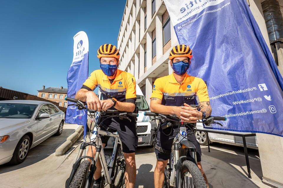 De politie Mechelen-Willebroek is volop bezig met de uitbouw van een fietsteam.