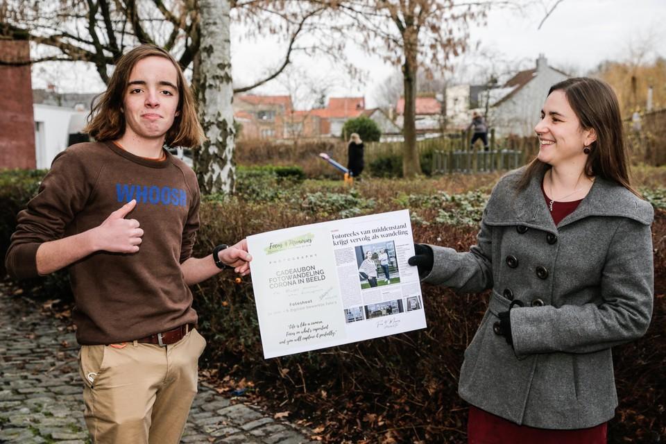 De 14-jarige Matts won de fotowedstrijd 'Corona in beeld'.