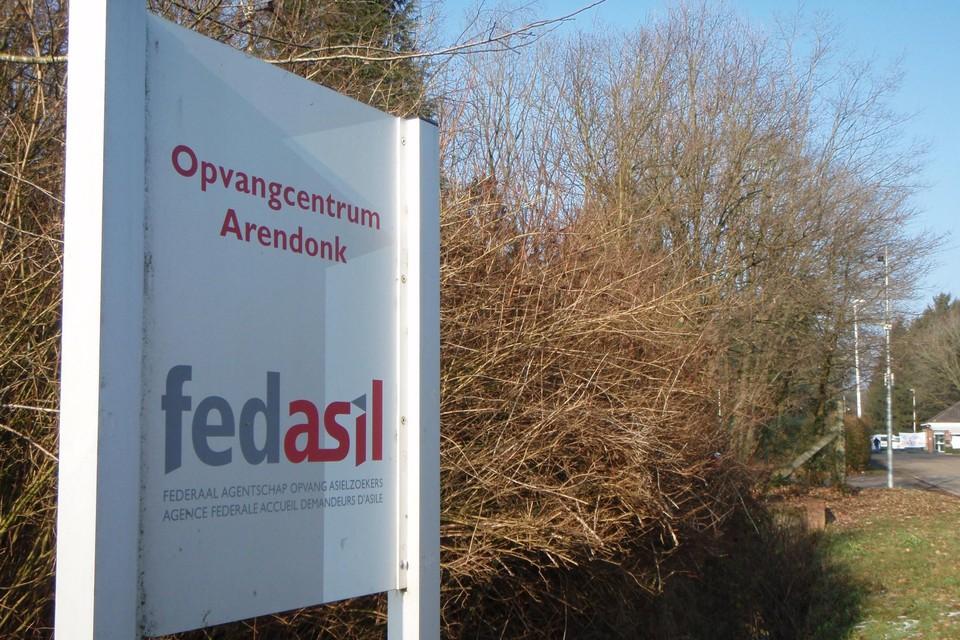 Het asielcentrum Totem van Fedasil in Arendonk.