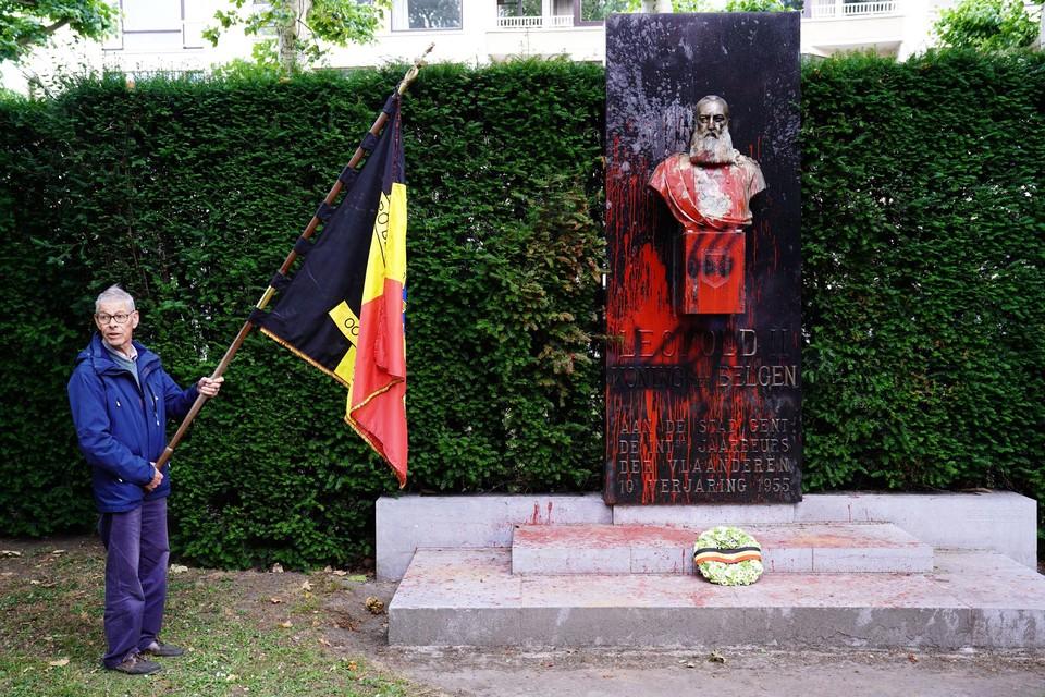 In Gent kwamen ook aanhangers van het koningshuis hun mening kracht bijzetten.