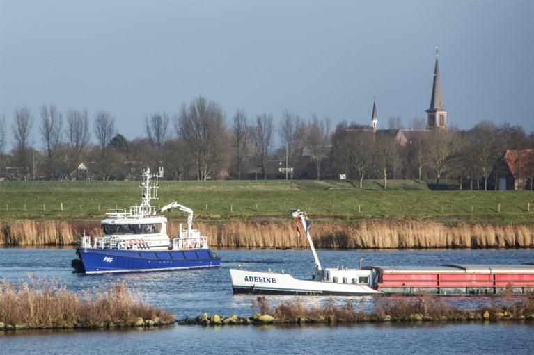 De betonkuip met de stoffelijke resten van Johan Van Der Heyden werd op donderdag 23 januari 2020 teruggevonden in het Schelde-Rijnkanaal.