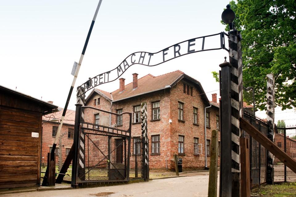 Het vernietigingskamp Auschwitz, waar ook duizenden Antwerpse Joden werden vermoord.