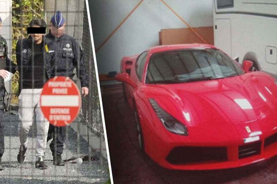 Een dertigtal personen werd meteen opgepakt. Sommigen reden met dure Ferrari's.