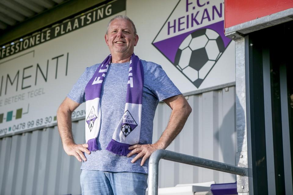 Voorzitter Jan Hendrickx van FC Heikant.