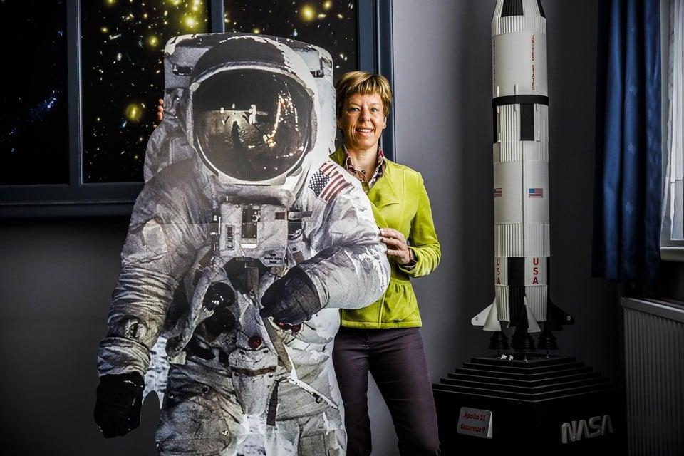 """Professioneel astronaut worden zit er niet meer in, weet pilote en astrofysicus Nancy Vermeulen. """"Maar ooit geraak ook ik nog in de ruimte, dat geloof ik oprecht."""""""