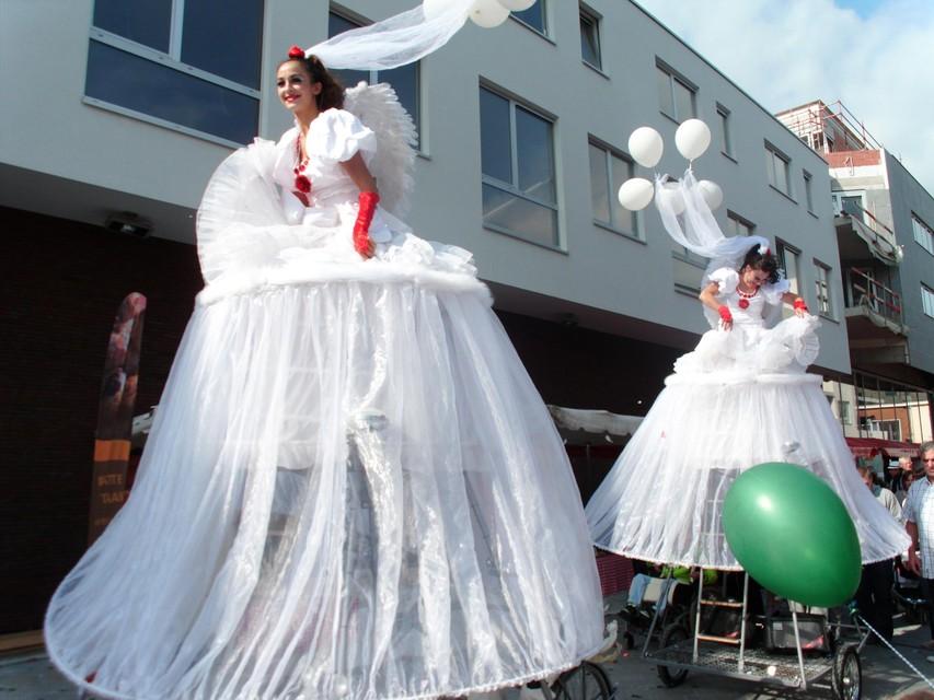 Het straattheater droeg mee bij aan het succes van Pukema.