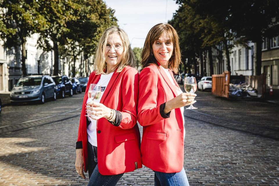 """Ann Lemmens en Hélène Van Herck: """"Een zaterdagavond alleen uit dansen of op café gaan: durf het!"""""""