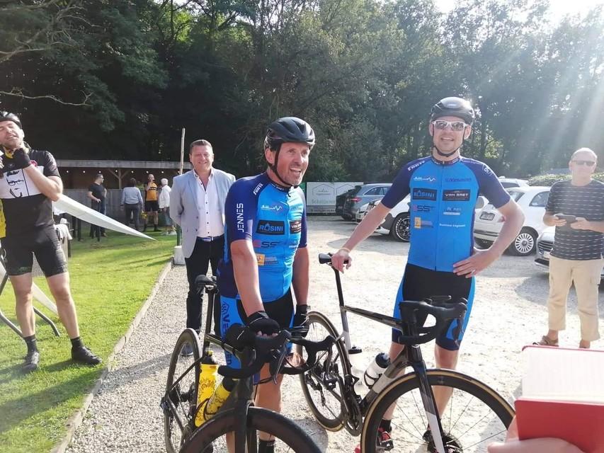 Moe maar voldaan arriveerden Swa en Filip zaterdagavond aan GreenAlive in Bonheiden.