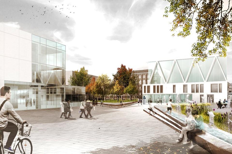 Puurs krijgt binnenkort een modern gemeentehuis, pal in het centrum en naast het nieuwe cultuurcentrum Binder.