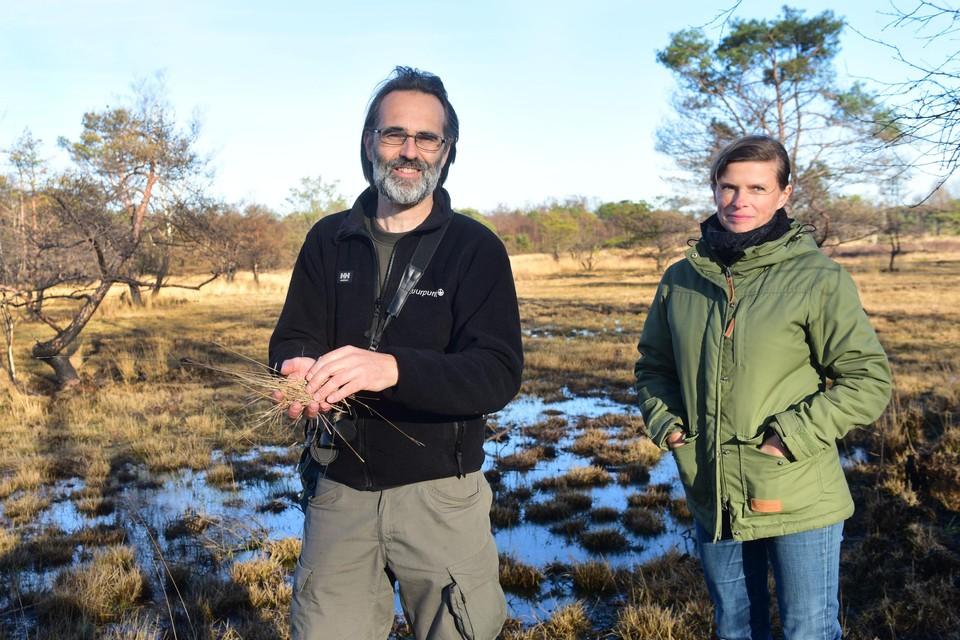 Kris Van der Steen en Jessy Broeckx van De Liereman.