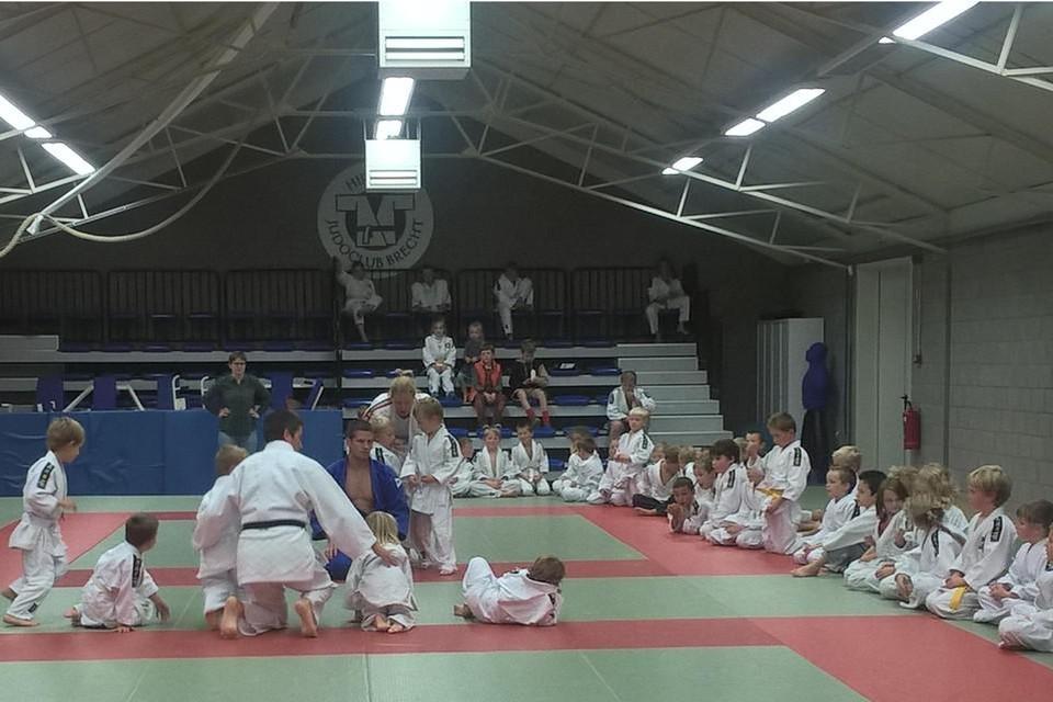 Hirano Brecht, de judoclub van Dirk Van Tichelt, heeft haar dojo in Sint-Lenaarts in twee verdeeld om alle trainingen coronaproof te kunnen blijven aanbieden.