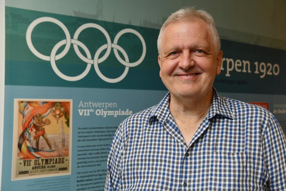 """Danny Geerts: """"Verzamelobjecten over de Olympische Spelen in Antwerpen veranderen voor forse bedragen van eigenaar."""""""