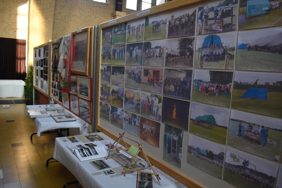 De Ezaartse verenigingen stellen zich ook voor tijdens de expo.