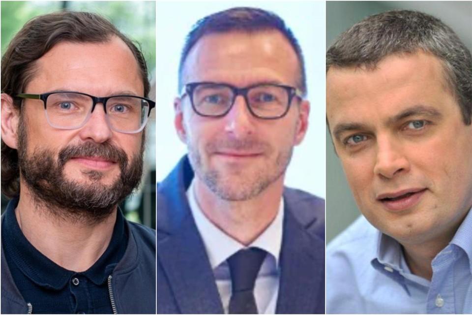 Enkele bestuurders van Let's Go Urban. Vlnr. Rob De Donder, Tim Baart en Michel Looyens.
