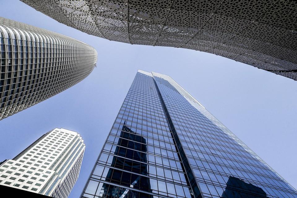 De Millennium Tower in het hart van San Francisco zou verantwoordelijk zijn voor een verzakking van veertig centimeter in de voorbije tien jaar.
